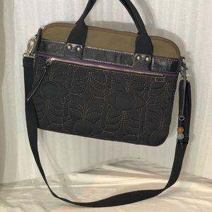 Fossil Quilted Laptop Bag